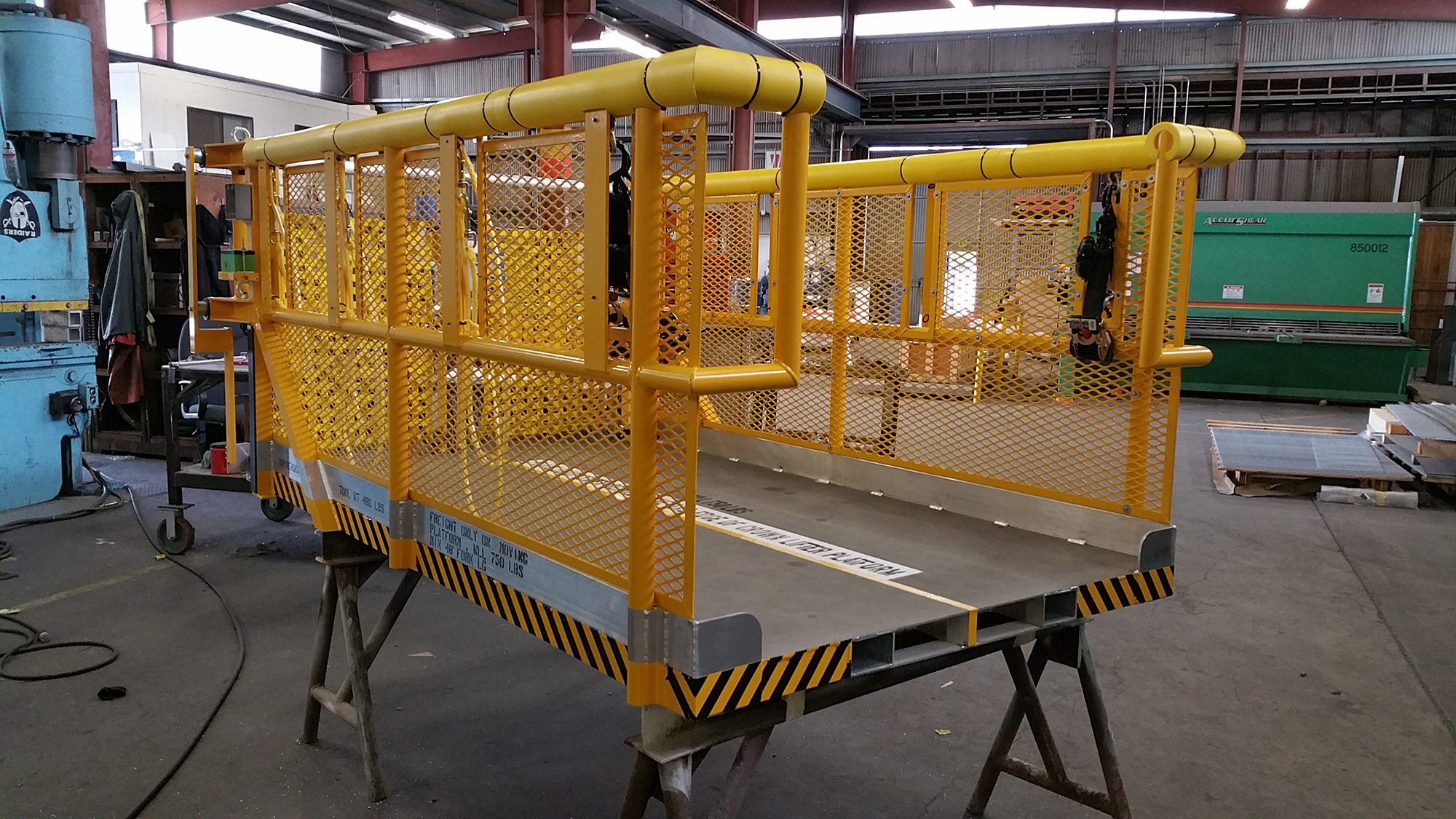 Custom Fabricated Steel Equipment by Steel-Fab Inc